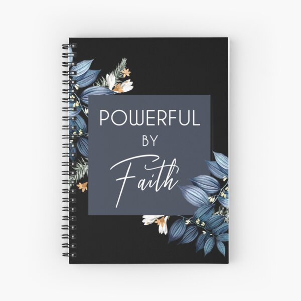 POWERFUL BY FAITH - 2021 JW Convention  Spiral Notebook
