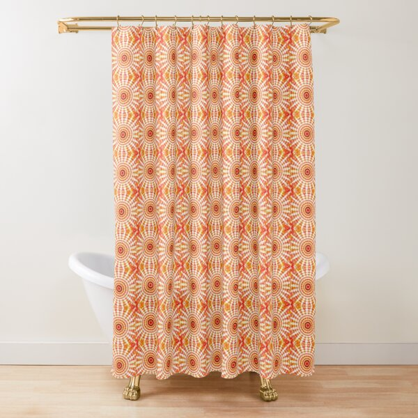 Mandala freestyle 3 Shower Curtain