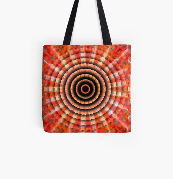 Mandala freestyle 2 All Over Print Tote Bag