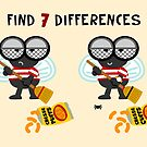 Find 7 Differences by Sonia Pascual