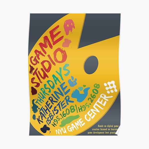 Katherine Isbister: Game Studio Poster