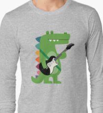 Croco-Felsen Langarmshirt
