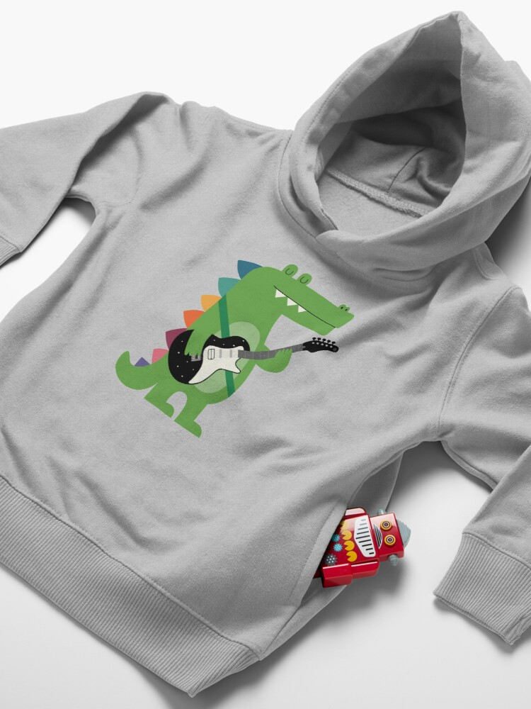 Alternate view of Croco Rock Toddler Pullover Hoodie