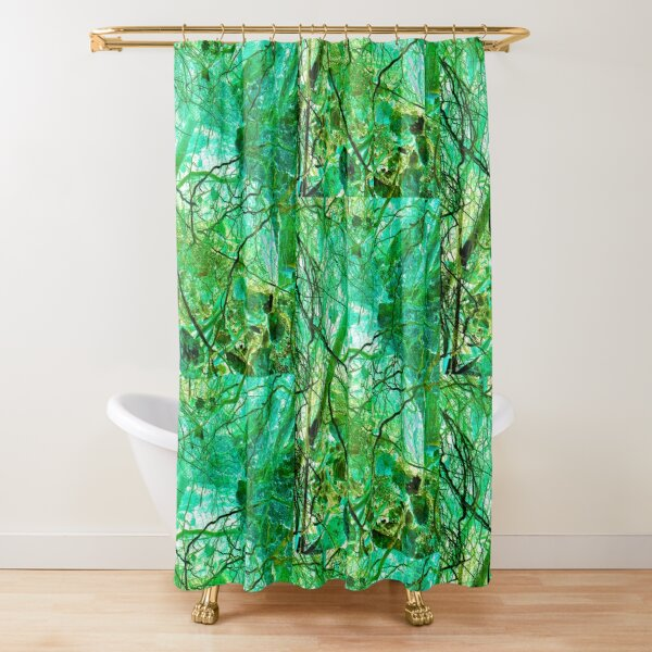 TONE ROOTS 6 - Subterranean Conversation Exposed Shower Curtain