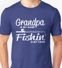 Fishing Grandpa Unisex T-Shirt