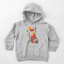 Sudadera con capucha para bebé Rainbow Fox