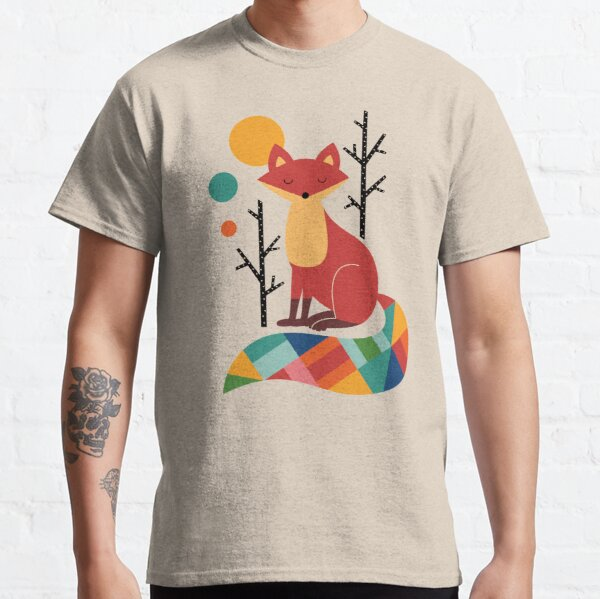 Rainbow Fox Classic T-Shirt
