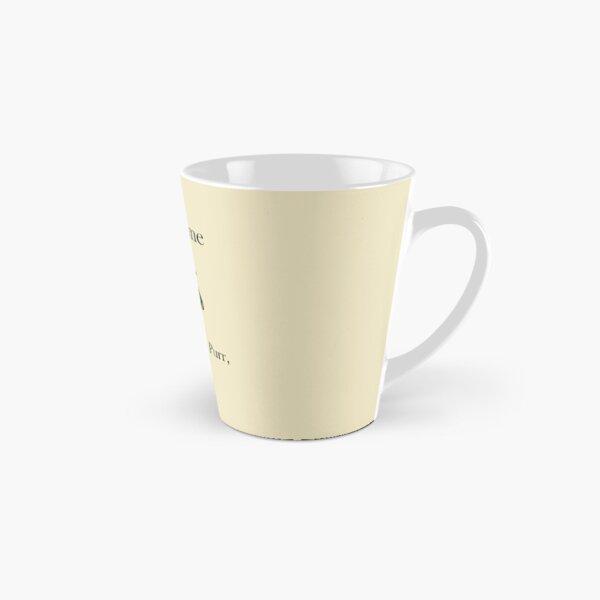 Alexander Hamilcat (Black Text) Tall Mug