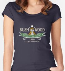 Bushwood Country Club 1980 Champion  Women's Fitted Scoop T-Shirt