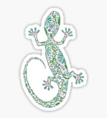 Zentangle Lizard Sticker