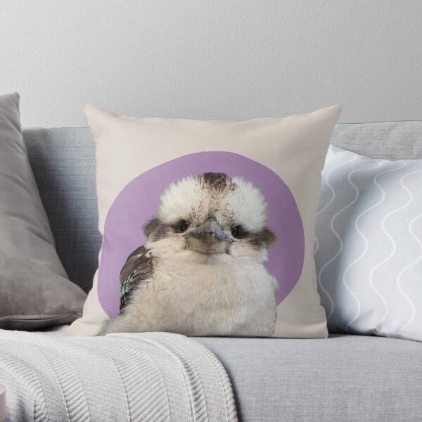 David The Kookaburra Throw Pillow