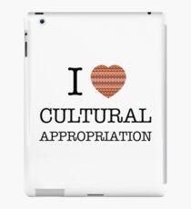 I Heart Cultural Appropriation Navaho iPad Case/Skin