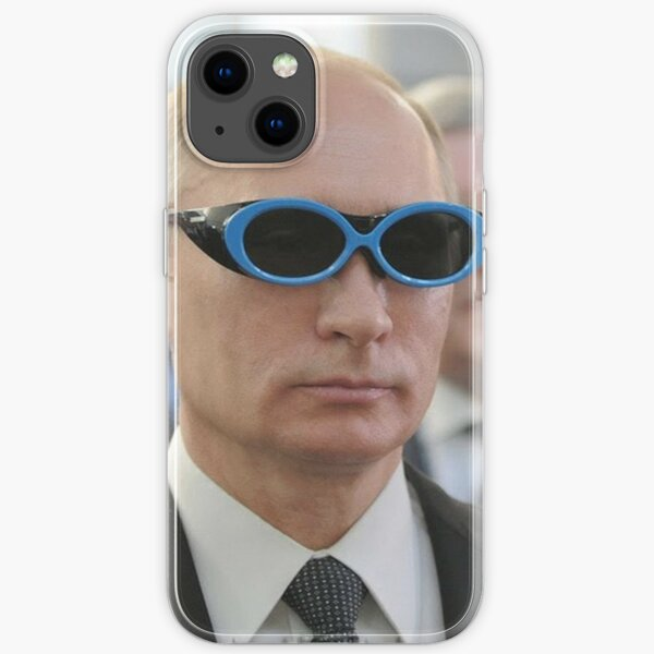 Cool Mr. President with trendy Glasses iPhone Soft Case