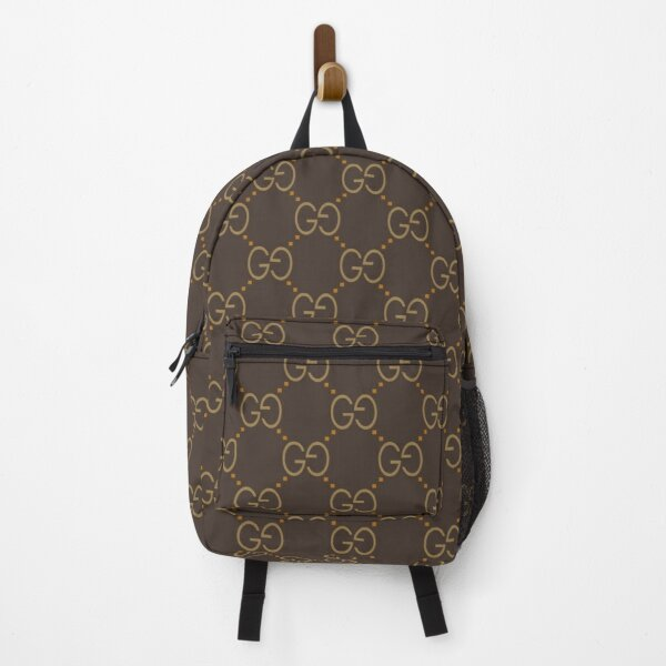designer inspired pattern Backpack