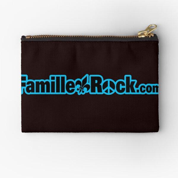 Famillerock.com Products Blue Zipper Pouch