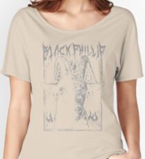 Black Metal Phillip Women's Relaxed Fit T-Shirt