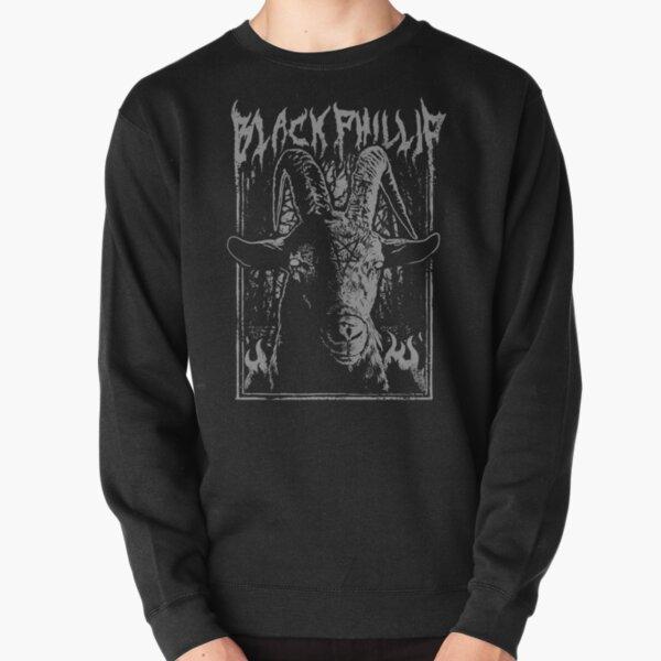 Black Metal Phillip Pullover Sweatshirt