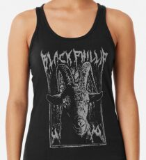 Black Metal Phillip Racerback Tank Top