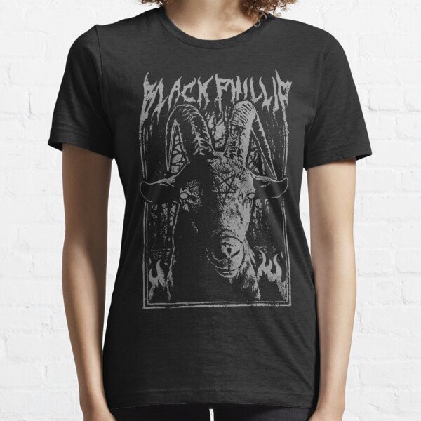 Black Metal Phillip Essential T-Shirt