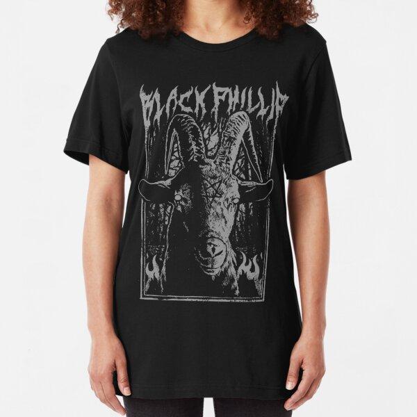Black Metal Phillip Slim Fit T-Shirt