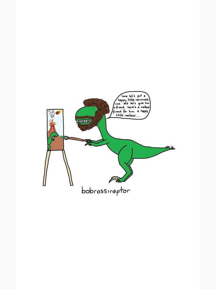 Bobrossiraptor von paintbydumbers