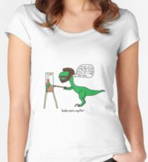Bobrossiraptor Fitted Scoop T-Shirt
