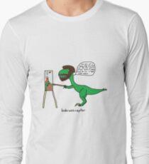 Bobrossiraptor Long Sleeve T-Shirt
