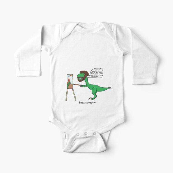 Bobrossiraptor Long Sleeve Baby One-Piece