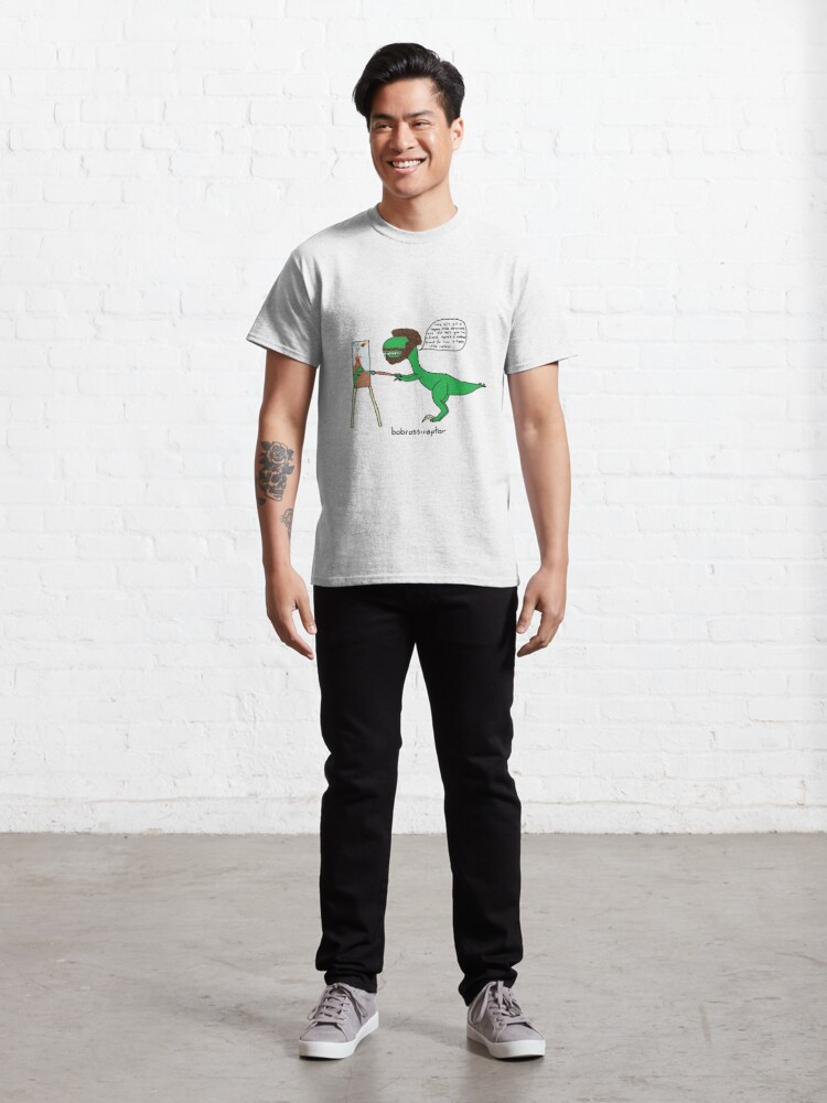 Alternate view of Bobrossiraptor Classic T-Shirt