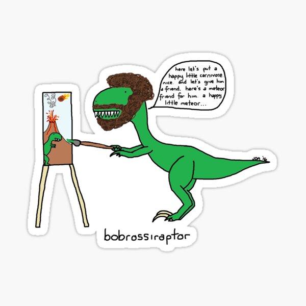 Bobrossiraptor Sticker