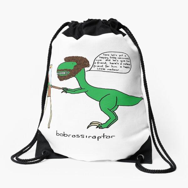 Bobrossiraptor Drawstring Bag