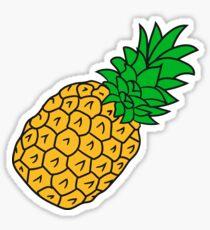 pineapple holidays Eat Well Sticker