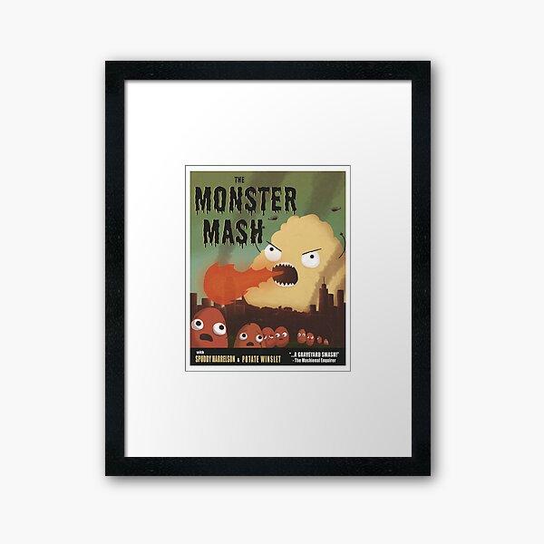 The Monster Mash Framed Art Print