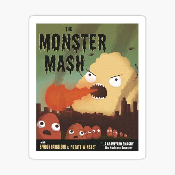 The Monster Mash Sticker