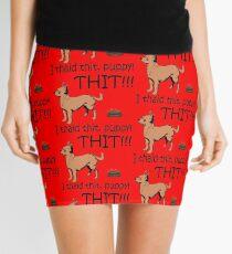 I Said Sit, Puppy! Sit! Mini Skirt