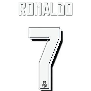 CR7, Cristiano Ronaldo, Cristiano, Ronaldo, oro, portugal, 7, number, dorsal by goztel