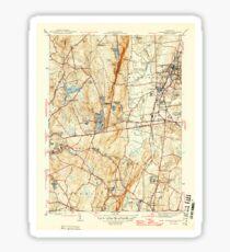USGS TOPO Map Connecticut CT Southington 461221 1946 31680 Sticker