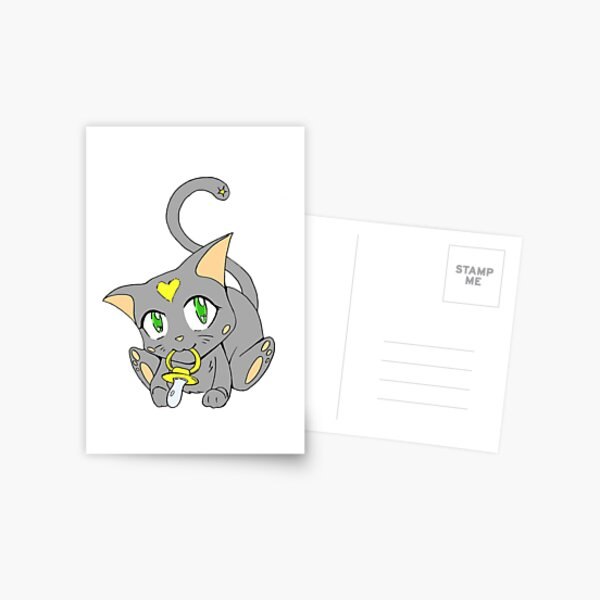 Copy of Cutest Baby Kitty-cat Postcard