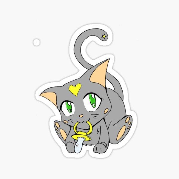 Copy of Cutest Baby Kitty-cat Sticker
