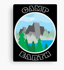 Camp Earth Canvas Print