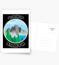 Camp Earth Postcards