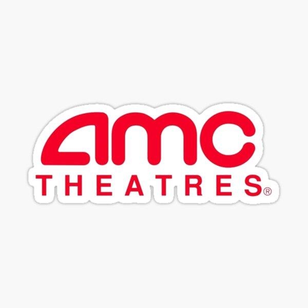 AMC Theaters Logo Sticker