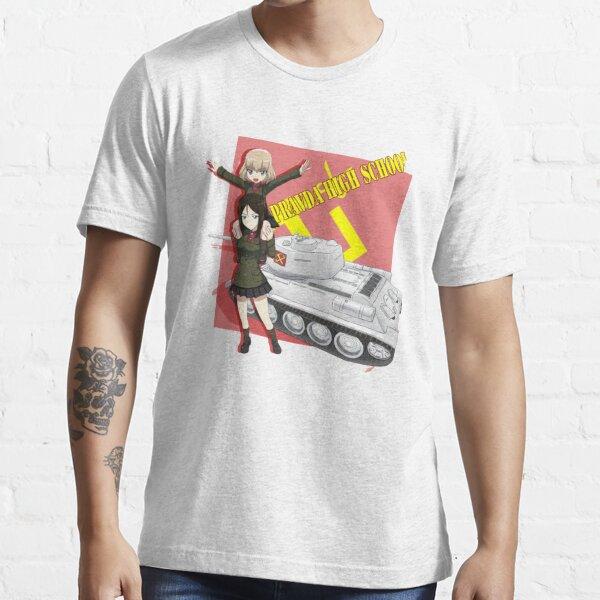 Girls Und Panzer - Pravda High School Essential T-Shirt