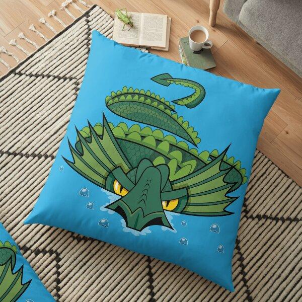 Norfolk Sea Serpent Floor Pillow