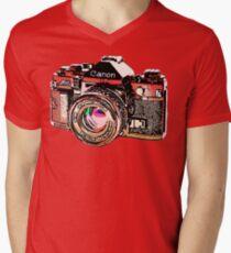 Canon Men's V-Neck T-Shirt