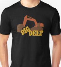 Dig Deep Gold Rush Unisex T-Shirt