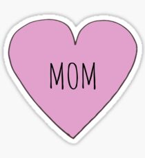 Mom love Sticker