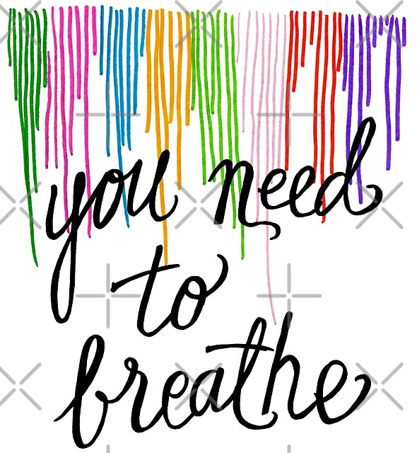 You need to breathe by Michelle Tam