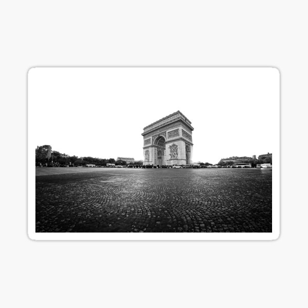 Paris - Arc de Triomphe Sticker