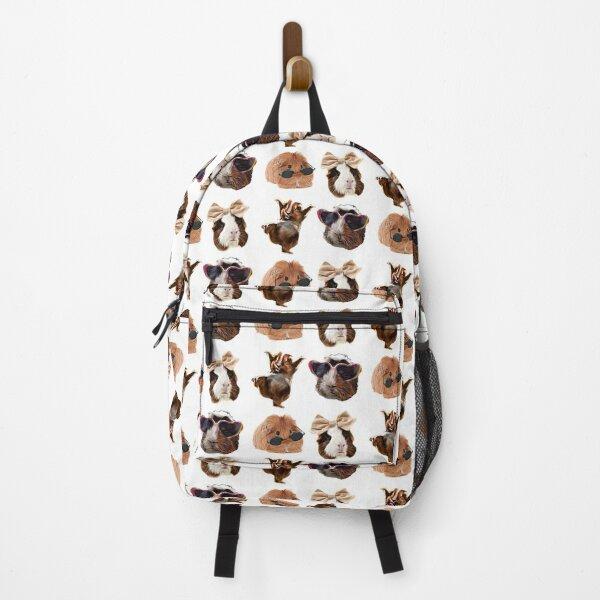 Funny Cute Guinea Pig Owner Pack Backpack